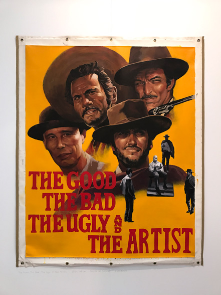 "Lai Wei-Yu, ""The Good, The Bad, The Ugly & The Artist"", galería Yiri Arts, Taipei (Taiwan). ArtMadrid17 alterMAD"