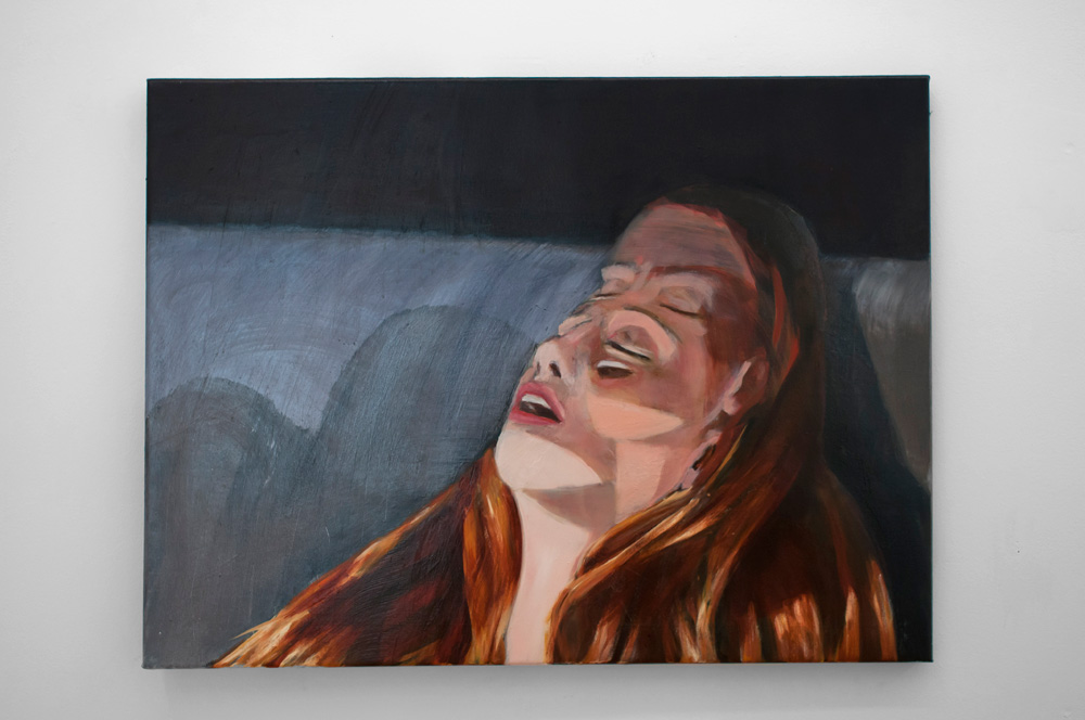 """Luisa Jacinto, """"An instant of this"""", galería Silvestre, Madrid."""